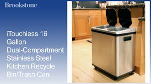 kitchen trash bin cabinet cabinet recycle trash cans for kitchen kitchen trashcans