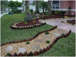 backyards excellent retaining wall landscaping around deck in