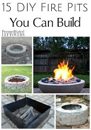 How To Make A Campfire In Your Backyard 15 Fire Pits You Can Build