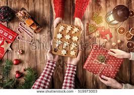 Mother Daughter Christmas Ornaments Xmas Preparation Stock Photos Royalty Free Images U0026 Vectors