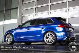 audi rs3 blue blue audi rs3 bc forged rz053 wheels 2 pk auto design