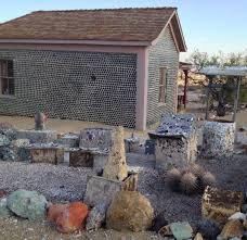 ghost town nye county nevada house made of wine bottles