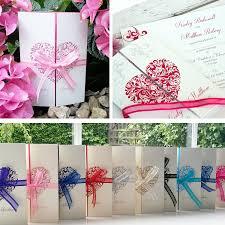 10 personalised wedding invitations handmade u0026 gatefold with