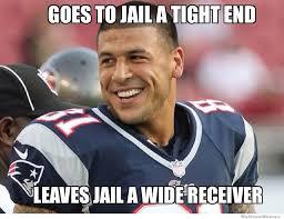 Aaron Meme - aaron hernandez gif aaron hernandez meme goes to jail a tight