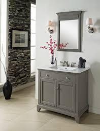 fairmont smithfield 36 vanity medium gray modern bathroom