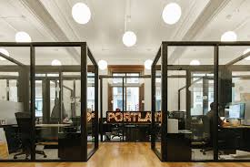 A Tour Of WeWorks Portland Coworking Space Officelovin - Custom furniture portland