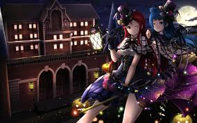 live halloween background love live sunshine wallpaper and background 1800x1129 id 772624