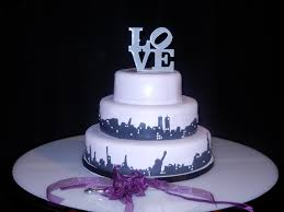 new york skyline wedding cake on cake central cake