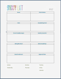 weekly family meal planner template mom mart january monthly meal planning w grocery template grocery shopping template freeprintable for a weekly grocery list