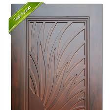 wooden door teak fusion 4411