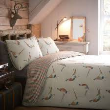 Dunelm Mill Duvet Covers Pheasant Reversible Duvet Cover And Pillowcase Set Dunelm