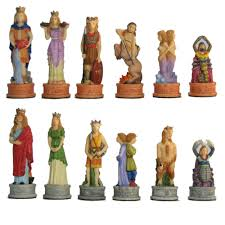 fantasy chess set fantasy and mythology chess sets and pieces