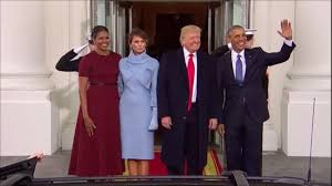 donald trump meets barack obama and family at the white house