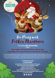 tea party with father christmas u2013 mumbles pier