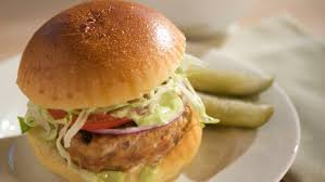 emeril s turkey burgers with cilantro mayonnaise