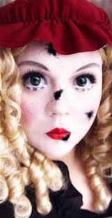 tutorial broken doll makeup your jangsara fun makeup everyone says i look like