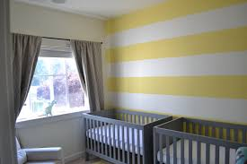 Yellow And Grey Nursery Decor Baby Room Exquisite Yellow Grey Baby Room Design With Stripes