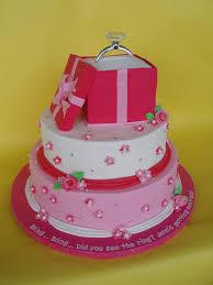 engagement bridal shower ring cake made for one of my olde u2026 flickr