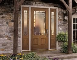 Bayer Built Exterior Doors Exterior Doors Fiberglass Entry Door With Designer Glass Bayer