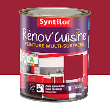 peinture leroy merlin cuisine peinture rénov cuisine syntilor gaspacho 1 l leroy merlin