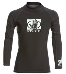 body glove basic youth fitted long sleeve rashguard at swimoutlet com