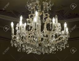 Antique Chandeliers Antique Crystal Chandelier Stock Photo Picture And Royalty Free
