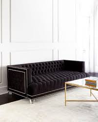 Navy Blue Sofas by Best 25 Tufted Sofa Ideas On Pinterest Home Flooring Home