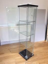 ikea glass display cabinet ikea glass display cabinet ebay