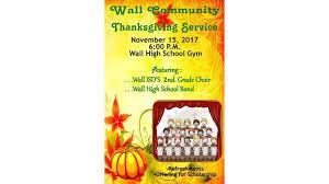 community thanksgiving service nov 15 2017