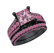 black and pink wedding rings 82 best pink and black rings images on black weddings