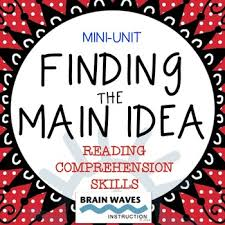 main idea and supporting details passages worksheets and graphic