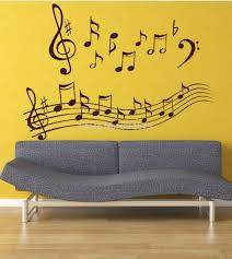 aliexpress com buy hot wonderful music notes wall art stickers aliexpress com buy hot wonderful music notes wall art stickers wall decal diy home decoration wall mural removable bedroom decor stickers from reliable