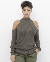 open shoulder sweater sweater shirt olive green olive shirt olive sweater olive