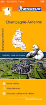 Champagne France Map by 515 Michelin Regional France Champagne Ardennes France Maps
