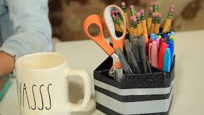 School Desk Organizers by Diy Duck Tape Desk Organization A Little Craft In Your Day