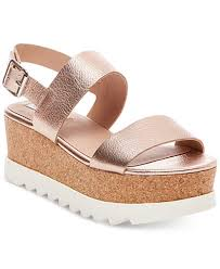 Steve Madden White Wedges Steve Madden Women U0027s Krista Flatform Sandals Sandals Shoes