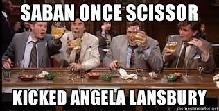 Angela Lansbury Meme - saban once scissor kicked angela lansbury bill brasky meme generator