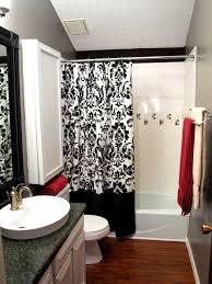 inspiration 80 black white tile bathroom decorating ideas