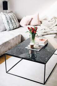 black marble coffee table marble coffee tables interior inspiration the daily dose home