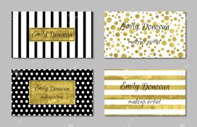 gift card business set of gold business card template or gift cards texture of