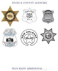 badge cards enforcement foiled business cards