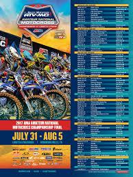 how to get into motocross racing lynn u0027s mx schedule 2017