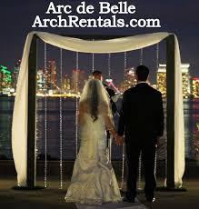 wedding arches los angeles wood rustic wedding arch rentals candela s coronado