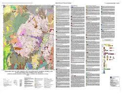 bureau lyon 2 geologic map of the virginia city quadrangle washoe storey and