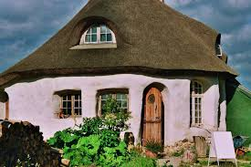 strawbale cottage in the dyssekilde eco village hundested
