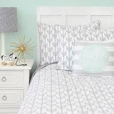 gray arrow duvet cover caden lane