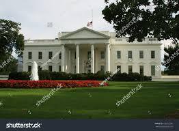 Federal Flag Half Mast White House American Flag Half Mast Stock Photo 133953290