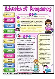 islcollective com free esl worksheets worksheets frequency