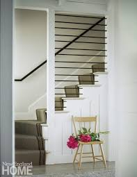Modern Design Staircase Farmhouse Modern New England Home Magazine