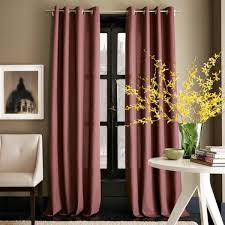 Cotton Drapes Designs Ideas Interior Design With Dark Maroon Mauve Cotton